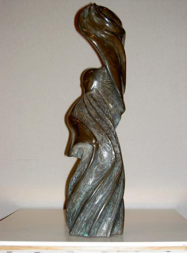 Peter also produces smaller stone sculptures for inside the home.