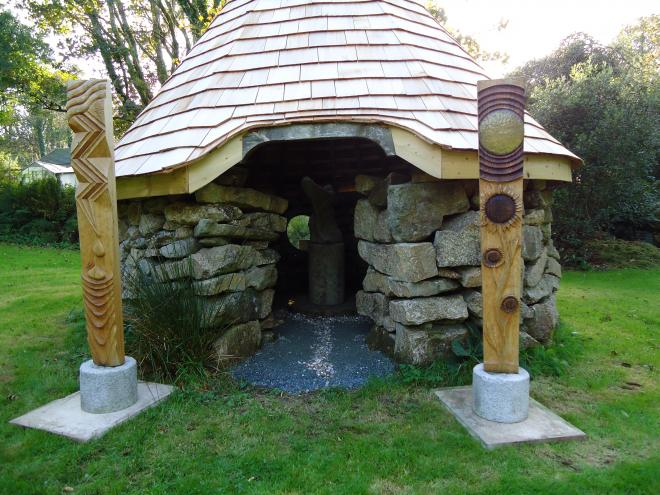 The Sculpture Hut recently opened in Helston Cornwall
